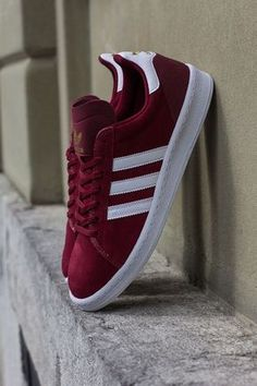 """adidas Campus AS """"Cardinal Red"""". cute for casual fall!"""