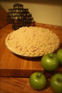 Life with Lucie & Ella: Make-Ahead Crumb Top Apple Pie