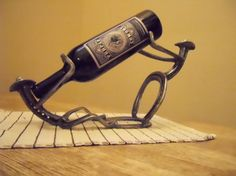 Thirsty Cowboys Wine Rack. A wonderful by KokesHorseshoeDesign, $45.00