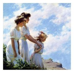 Charles Courtney Curran [American Impressionist Painter, Curran was born in Hartf. Fine Art Posters, Fine Art Prints, Design Your Own Poster, American Impressionism, Traditional Artwork, Personalized Wall Art, Beautiful Paintings, Classic Paintings, American Artists