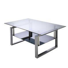 Glastisch schwarz wohnzimmer  Couchtisch Katori III - Glas / Metall - Marmor Schwarz Dekor ...