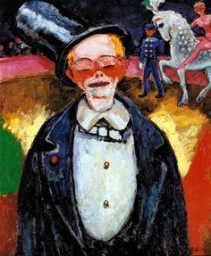 Kees van DONGEN/the Clown, oil on canvas 73 x 60 (1906)