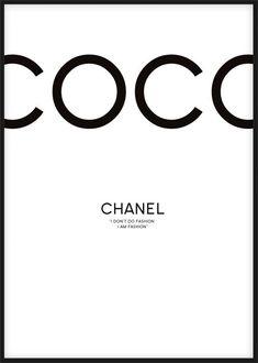 fashion wallpaper Wedding Quotes : Chanel tavla med citat frn Coco Chanel I dont do fashion I am fashion. Chanel Logo, Chanel Poster, Chanel Print, Chanel Chanel, Chanel Black, Prada Poster, Coco Chanel Wallpaper, Chanel Wallpapers, Fashion Quotes
