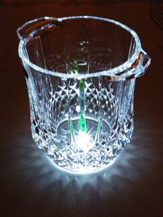 $35.99 Cristal d'Arques Longchamp ice bucket crystal made France excellent condition | eBay