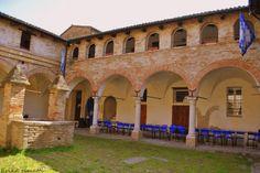 Faenza - Sede Rione Bianco, Chiostro