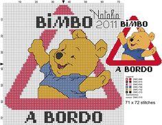 Bimbo a bordo Con Winnie