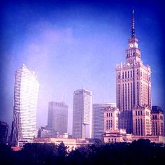 #warsaw #city #poland #architecture #sky