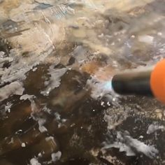 Painting Videos, Painting Tips, Painting Techniques, Sand Crafts, Encaustic Painting, Make Color, Art Studios, Art Lessons, Arts And Crafts
