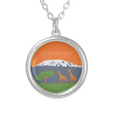 #kilimanjaro #giraffe #africa #mountains #wildlife #safari #necklace