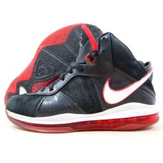 size 40 25899 b093d Nike Shoes   Nike Lebron James 8 Size 10.5 Men Basketball Shoes   Color   Black Red   Size  10.5