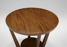 Glendale Round End Table , Charleston (543) , large_gray