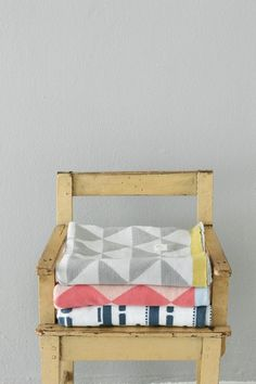 stool, throws // this stool - seat could be made from palettes.