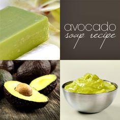 Homemade Avocado Soap Recipe - Great for Sensitive Skin