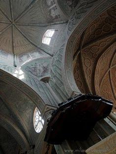 Biella (Italy) - Detail of the interior of the Duomo