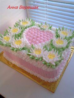 Cake Buttercream Cake, Fondant Cakes, Beautiful Cakes, Amazing Cakes, Occasion Cakes, Cookie Decorating, Special Occasion, Cheesecake, Cake Photos