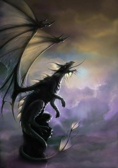 Fantasy Dragon - love the light on this one