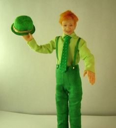 Creepy. And awesome. Conan the Leprechaun doll by SandyCopeland on Etsy.