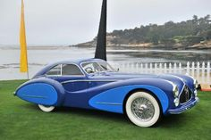 1948 Talbot Lago T26 Grand Sport Coupe by Saoutchik