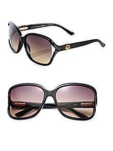9bd9d525eb Gucci - Oversized Plastic Sunglasses Oversized Sunglasses