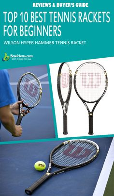 Best Tennis Rackets for Beginners Ultimate List (March) Best Tennis Racquet, Head Tennis, Muscle Power, Great Power, Buyers Guide, Rackets, How To Stay Healthy, Female, Products