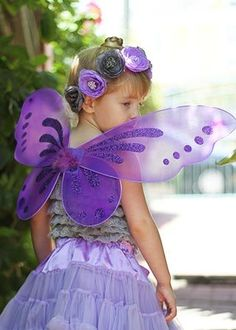 These Fairy Wings are great for pixie parties, dress up, Halloween, photo sessions and just about everything else too!   The perfect size for your toddlers and girls of all ages these wings are simply adorable. Measurements: 19 * 23