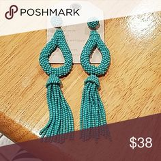 Anthropologie earrings NWT beaded anthropologie earrings Anthropologie Jewelry Earrings