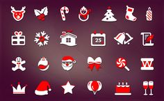These Beautiful and Creative Christmas Icons is very useful for every designer. You can download Free PSD file from www.webdesignhood.com