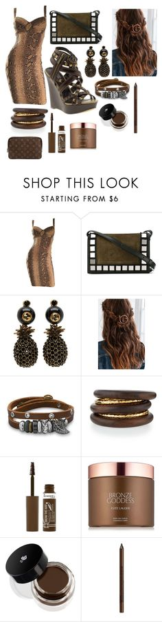 """""""Snake"""" by giulia-ostara-re ❤ liked on Polyvore featuring Michael Antonio, Tomasini, Gucci, Urban Outfitters, BillyTheTree, NEST Jewelry, Rimmel, Estée Lauder, Lancôme and NYX"""