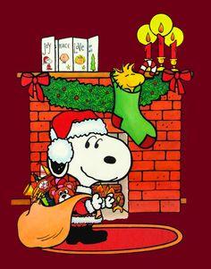 Peanut #Snoopy Santa Claus! Beautiful #christmas hd wallpapers at www.freecomputerdesktopwallpaper.com/xmastwentythree.shtml Thank you for viewing!