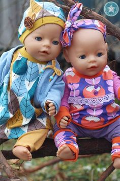 von LeLu Baby Born Kleidung, Baby Born Clothes, Doll Toys, Dolls, Little My, Diy Doll, Sewing For Kids, Barbie, Doll Clothes