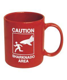 'Caution Sharknado Area' Mug