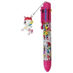 One pen . many possibilities! It is the most adorable and cute pen ever! Black, red, pink, blue: choose your hue! This multi-color pen offers eight colors. Adorned with a unicorn charm and the body of the pen is full of matching unicorns. Unicorn Bedroom, Unicorn Rooms, Unicorn Gifts, Unicorn Birthday Parties, Unicorn Party, Cute Pens, Cute School Supplies, Ink Color, Diy And Crafts