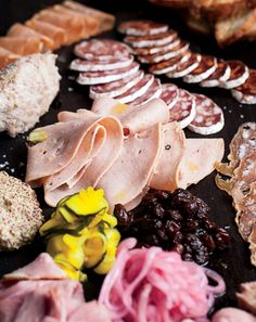 Olympic Provision's charcuterie board, Portland OR