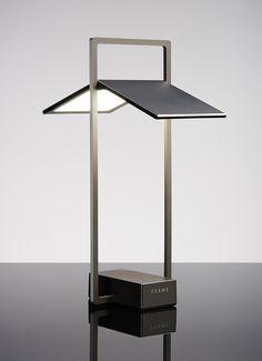 Frame - OLED desk lamp by LG Display.