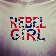 Rebel girl tee