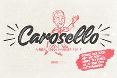 Carosello by Unio | Creative Solutions on @creativemarket