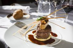 Tournedos Rossini by Monarque, Chartres, France - Rossini's beef by Monarque, Loire Valley, France
