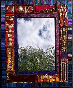 mosaic picture frame | Mosaic Frames / `