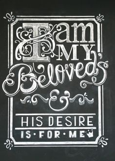 """Song of Solomon 7:10, """"I am my beloved's, and his desire is toward me."""" ✅"""