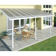 Outdoor Plastic Roof Gazebo Tent, Balcony Patio Cover, Metal Shed, Garden Aluminum Pergola, Terrace Sunshade Awning Deck With Pergola, Wooden Pergola, Covered Pergola, Patio Roof, Pergola Patio, Backyard Patio, White Pergola, Cheap Pergola, Awning Patio