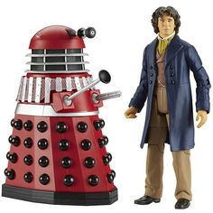 Doctor Who Eighth Doctor With Dalek Alpha Action Figure Set