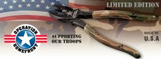 is proud to support our U. military members by teaming up with Operation Homefront on the release of our Limited Edition Klein Tools, Support Our Troops, Home Tools, Holiday Wishes, Give It To Me, How To Make, Tool Box, Military, Bag