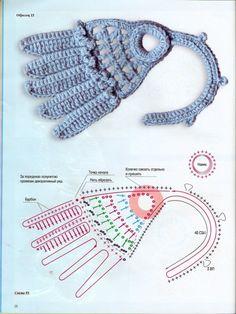 crochet beauty flowers and leaves motives | make handmade, crochet, craft