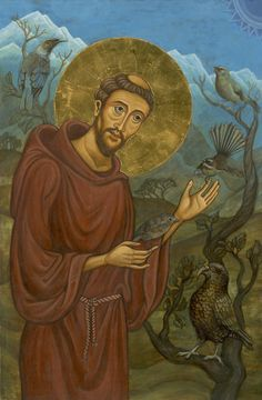 """pictures of st francis with animals 