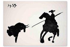 """Pablo Picasso, Carnet """"Toros y Toreros"""" on OneKingsLane.com"""