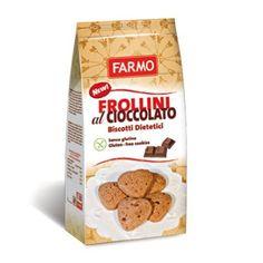 FARMO Biscotti Frollini Cioccolato Dark 200g