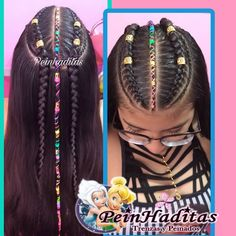 La imagen puede contener: 1 persona Cute Braided Hairstyles, Try On Hairstyles, Casual Hairstyles, African Hairstyles, Curly Hair Styles, Natural Hair Styles, Little Girl Haircuts, Texturizer On Natural Hair, Cool Braids