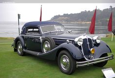 Photographs of the 1939 Horch Cabriolet. An image gallery of the 1939 Horch Vintage Cars, Antique Cars, Citroen Traction, Best Classic Cars, Old Cars, Cars And Motorcycles, Dream Cars, Super Cars, Automobile