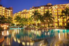 An amazing deal for the ultimate vacation to Nuevo Vallarta, this deal won't last long, so book the ultimate vacation now! Hacienda Style, Resort Spa, Beach Resorts, Hotel Offers, Villa, Vacation, Mansions, House Styles, Places