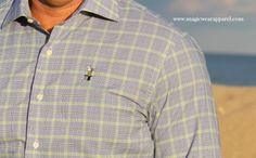 One of the best selling dress shirts. Magic Wear Apparel Men's shirts are 100% cotton with embroidered logo !